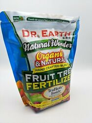 Dr. Earth Natural Wonder Fertilizer For Fruit Trees 4 lb. BB 2024 $17.99