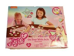 Nickelodeon On Tour With JoJo Siwa Board Game 2 To 4 Players Ages 3 And Up $23.99