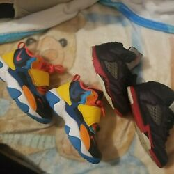 Boys Nike And Jordan Sneakers Size 1Y* Must Zee *