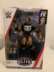 WWE Elite Collection 69 The Rock Collector#x27;s Edition Walmart Exclusive Sealed $32.95