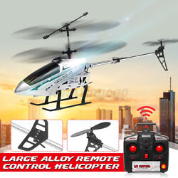 2.4G LED Extra Large RC Helicopter 3.5CH Remote Control Two Blades Toy 33 in $56.99