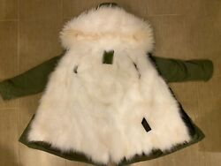 Mramp;Mrs Fur Jacket Fur layer Removable $580.00