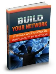 Build Your Marketing Network PDF eBook with resale rights $0.99
