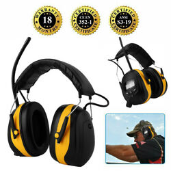 Noise Reduction Ear Muffs NRR 28dB Shooters Hearing Protection Headphones AM FM $36.26