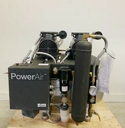 Midmark PowerAir P22 Dental Air Compressor Oil Free Mfg 2019 *Used Only 92 Hours $3295.00