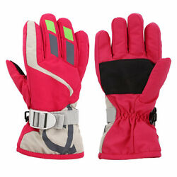Outdoors Ski Gloves Kids Children Winter Warm Snowboard Full Finger Mittens Grea $6.25