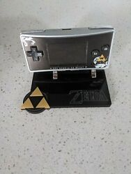 The Legend of Zelda Special Edition Gameboy Micro with Display Stand $179.00