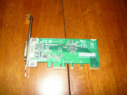 DVI D ADD2 Video Adapter Card PCIe x16 Full Profile Height Used to add DVI port $9.95