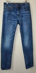 American Eagle Mens Next Level Flex Jeans Size 32 x 34 Slim Straight $25.00
