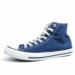 Converse All Star Mens 9 Chuck Taylor Sneakers Blue M9622 Textile High Top Shoes $32.70