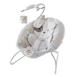 Fisher Price Deluxe Bouncer: Sweet Dreams Snugapuppy $40.00
