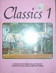 Stained Glass – Classics 1 – Marianne Warner – SC – 28 multi size lamp patterns $7.95