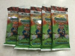 5 LOT Value Packs GPK Garbage Pail Kids CHROME SERIES 3 NEW SEALED $40.00