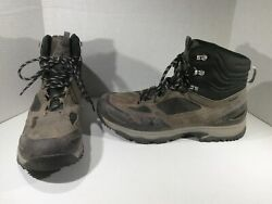 VASQUE Mens Breeze AT Mid GTX Black Hiking Trail Ankle Boot Shoes Sz 15 R1 286 $54.99