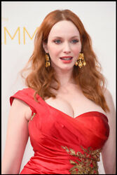 Christina Hendricks Redhead Hollywood Actress Wall Room Poster POSTER 24x36 $18.99