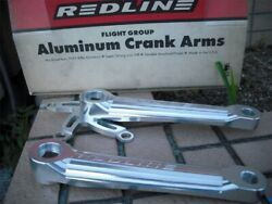 BMX New Old Stock NOS Vintage Parts RED LINE AL CRANK Category weight 350g $593.99