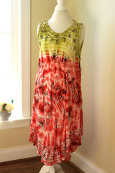 Beach by Exist Swimsuit Bathing Suit Cover Up Dress One Size MSRP: $50.00 $24.99