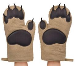 Bear Paw Oven Mitts Set of 2 $17.99
