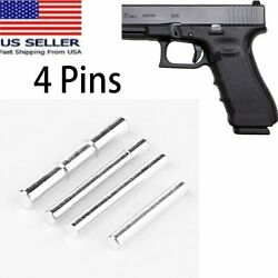 Stainless Steel Gen 4 Pin Kit Set for Glock 17 19 20 21 22 23 24 26 27 34 35 37 $7.86