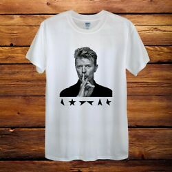 David Bowie Star Mens T Shirt Inspired Retro Novelty Adults Tee Size S 5XL $15.99