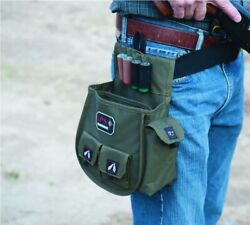 GPS: Wild About Shooting Deluxe Double Shotgun Shell Pouch Olive $24.99