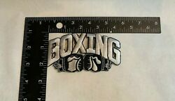 Boxing Gloves Logo Sports Embroidered Iron On Patches 1pc set NEW $3.00