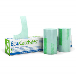 EcoCatchers 75 Kitchen Compost Bags for Countertop Bin 3 Gallon Compostable $21.50
