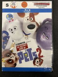 The Secret Life of Pets 2 Movie Family Animation Comedy PG DVD Blu Ray 2019 $6.99