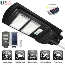 700000LM 240W Solar LED Street Light Commercial Outdoor Security Road Lamp