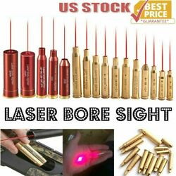 Laser Bore Sight BoreSighter Gun Red Dot Laser Cartridge Many Calibers Available $10.94