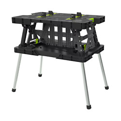 Keter Folding Work Table with Mini Clamps $92.99