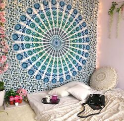 Mandala Tapestry Wall Hanging Room Home Decor Hippie Tapestries Queen Bedspread $18.99