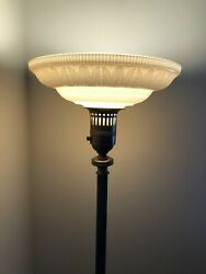 1930#x27;s torchiere lamp shade C $240.00