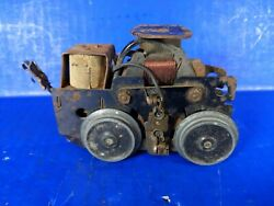 Vintage Trolly Train Electric Engine Chassis No Body Old Parts $39.00