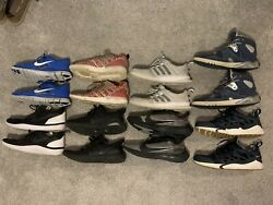 Nike and Adidas Shoe Lot Size 11 8 Pairs Of Shoes