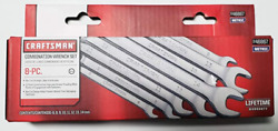 Craftsman 8 pc. Metric 12 pt. Combination Wrench Set 46867 $24.99