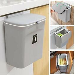 Kitchen Compost Bin for Counter Top Under Sink 2.4 Gal Small Trash Can with Lid $34.83