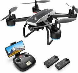 DEERC D50 FPV Drones with 2K HD Wifi Live Video Wide Angle Camera RC Quadcopter $58.99
