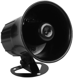 Electronic Alarm Siren Horn Outdoor for Home Security Protection System Loud