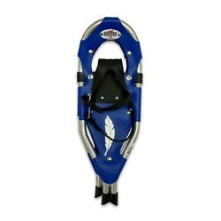 Redfeather V Tail 20quot; Youth SnowShoes Made in the USA Blue Vinyl decking. $63.00