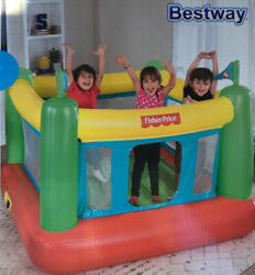 Fisher Price Bouncesational Bounce House Bestway w Built In Pump READY TO SHIP $118.00