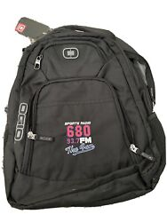 OGIO Black Backpack 680 The Fan Atlanta Radio Show New with Tags $35.00