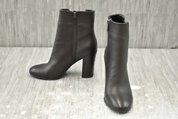 Kenneth Cole New York Justin Bootie Ankle Boot Women#x27;s Size 7.5M Chocolate NEW $31.13