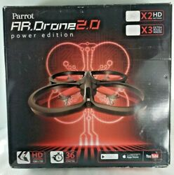 Parrot AR. Drone Power Edition 2.0 NEW OPEN BOX $69.99