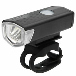 Road Bike Rechargeable Warning Intelligent Sensing Head Tail Light Cycling Equip $8.93