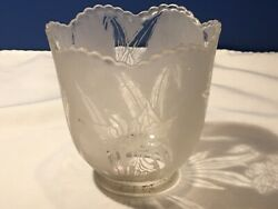 Acid Etched Shade with Reversed Pattern $35.00