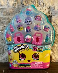 Shopkins Cupcake Queen#x27;s Sprinkle Party 12 Exclusive Sprinkle Shopkins NEW $25.00