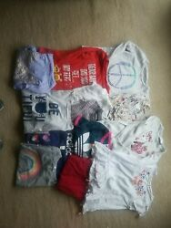 LOT OF GIRLS SIZE 10 12 shirts. Long sleeve and short sleeve $18.50