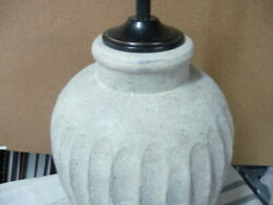 Pottery Barn Anders Fluted Table Lamp Large 31quot; $169.00