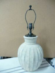 Pottery Barn Anders Fluted Table Lamp Medium $130.00